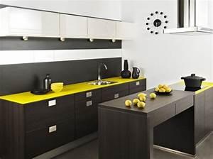 conseil deco cuisine jaune With conseil deco cuisine