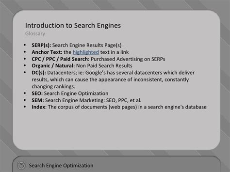 Optimising Search Engine Results by Search Engine Optimization Basic