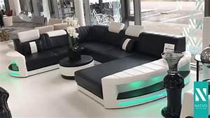 Big Sofa Led Beleuchtung : nativo m bel schweiz designer sofa atlantis xxl mit led beleuchtung youtube ~ Bigdaddyawards.com Haus und Dekorationen