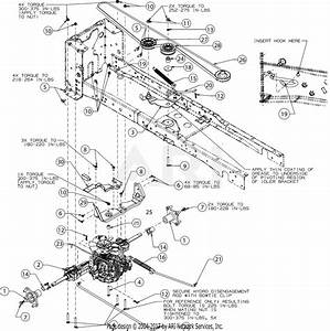 Troy Bilt Super Bronco Belt Diagram