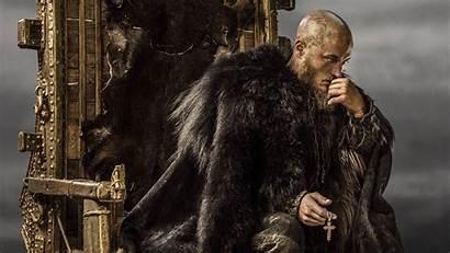 Ragnar Lodbrok Wikinger Fernsehserie Baum Pelz Vikings