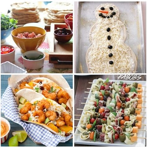 Your kids will love sharing these christmas treats at school! 10 Fun Family Christmas Eve Dinner Ideas - thegoodstuff