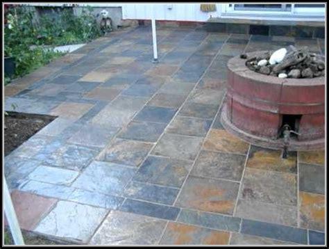 tile concrete patio patios home decorating ideas