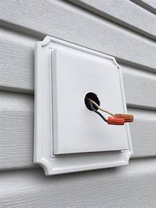 Lighting - Exterior Lights On New Siding  No Electrical Box To Screw Into  What To Do