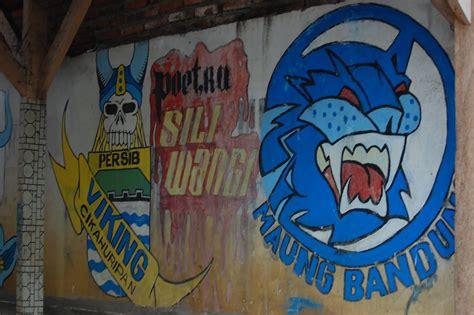 Grafiti Viking Persib : Jakarta Casual