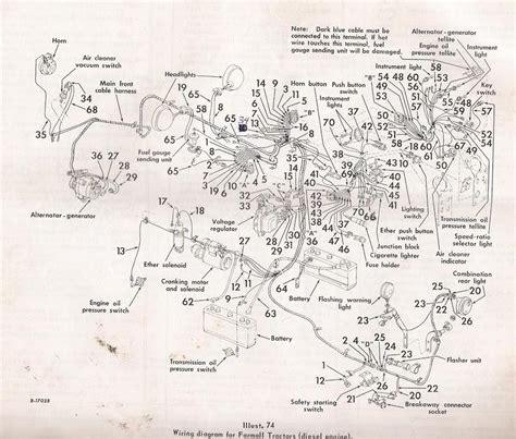 966 Ih Tractor Wiring Schematic For 826 wiring diagram general ih power magazine community