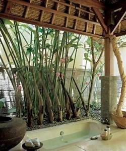 Le modele de salle de bain parfait est la for Salle de bain design avec décoration de table exotique