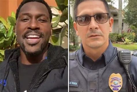 Antonio Brown Ripped By Cops, Donation Returned, Youre a ...