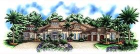 Mediterranean Style House Plan 72806 with 3489 Sq Ft 3