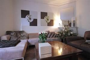 Décoration Intérieure Salon : photo salon et taupe d co photo ~ Teatrodelosmanantiales.com Idées de Décoration