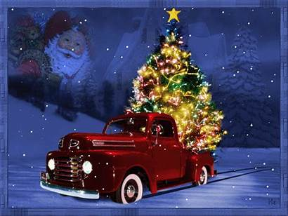 Christmas Tree Country Bringing Brothers Statler Truck