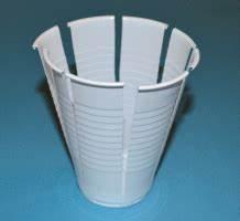 Basteln Mit Plastikbecher : osternest aus einem pappbecher basteln ~ Orissabook.com Haus und Dekorationen