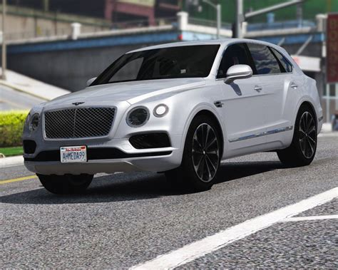 Bentley Bentayga Modification by Gta 5 2017 Bentley Bentayga Add On Tuning Analog