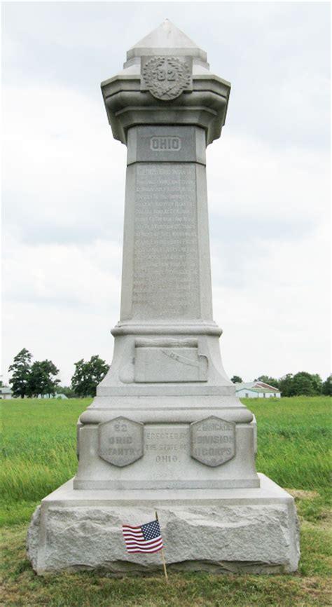 monuments    ohio volunteer infantry regiment