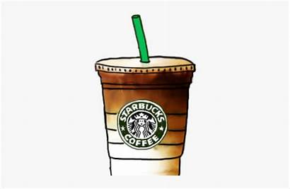 Starbucks Coffee Clipart Iced Drawing Easy Cup