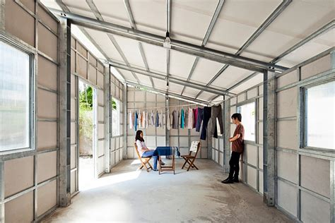 modular steel homes prefab tiny house with steel lattice structure assembles