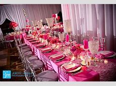 Friday Feature Pink with just a hint of Zebra Bat Mitzvah