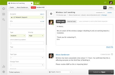 Servicedesk Plus Vs Zendesk by Help Desk Software Customer Service Software Support