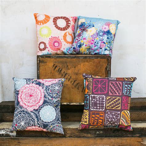 Bohemian Floor Cushions Uk by Bohemian Cushion Cover By Rachael