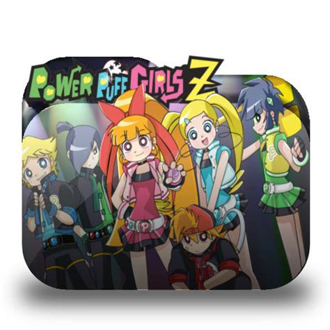 I Made Some Anime Folder Icons Thought Would With You Powerpuff Z Folder Icon By Keybladealvin On Deviantart