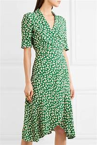 Ganni green dress