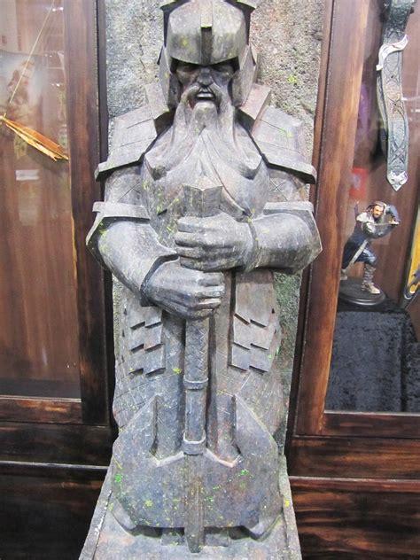 dwarf statue hobbit  news  rumors theoneringnet