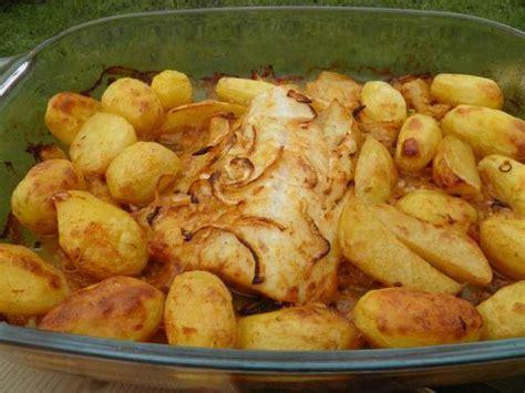 plat cuisiné au four les meilleures recettes de morue et pomme de terre