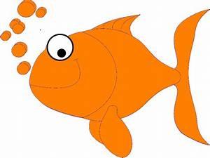 Orange Fish clip art - vector clip art online, royalty ...