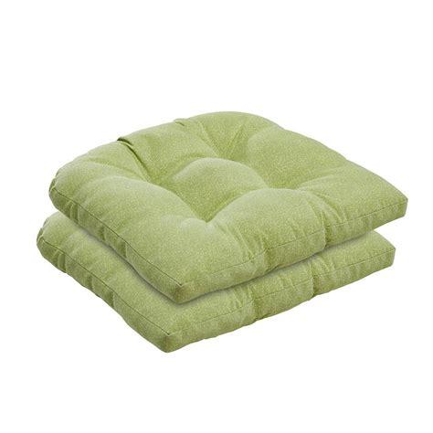 green piebald wicker chair cushion set bossima outdoor