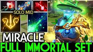 Miracle- [Storm Spirit] Full Immortal Set He's Real ...