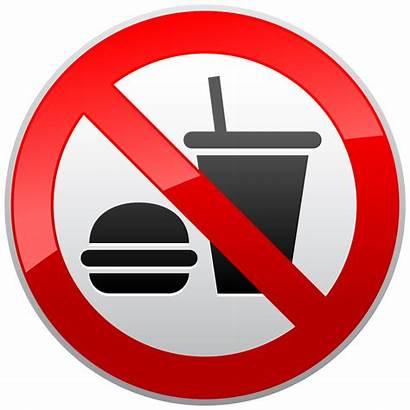 Eating Drinking Sign Clipart Prohibition Signs Drink
