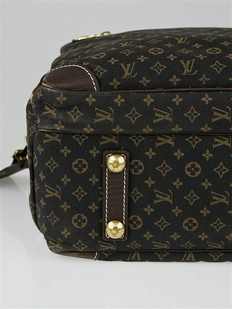 louis vuitton ebene monogram mini lin canvas diaper bag