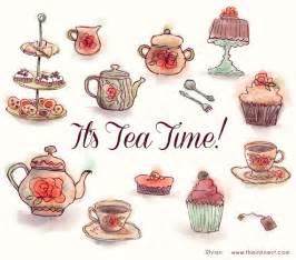 English Tea Party Clip Art