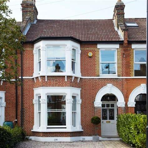 edwardian homes interior terrace sash windows and bay windows on