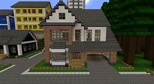 White/Brick house Minecraft Project