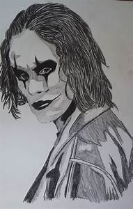 Pencil Drawing:Brandon Lee as The Crow - YouTube