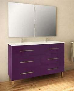 Meuble Double Vasque Sur Pied : salle de bain c3s ~ Melissatoandfro.com Idées de Décoration
