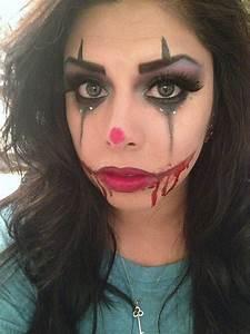 Sexy/Scary Clown Makeup | Makeup Tricks | Pinterest ...