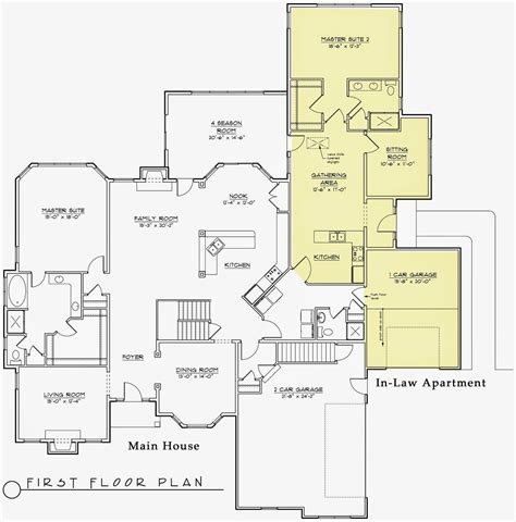 hodorowski homes rising trend   law apartments house floor plans multigenerational