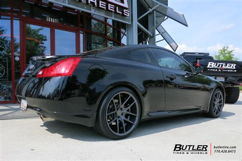 Infiniti G37 With 20in Niche Targa Wheels Exclusively From