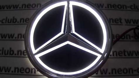 Shop the top 25 most popular 1 at the best prices! New 5D car badge mercedes lights, benz led logo, sticker light - Great parts and accessories ...