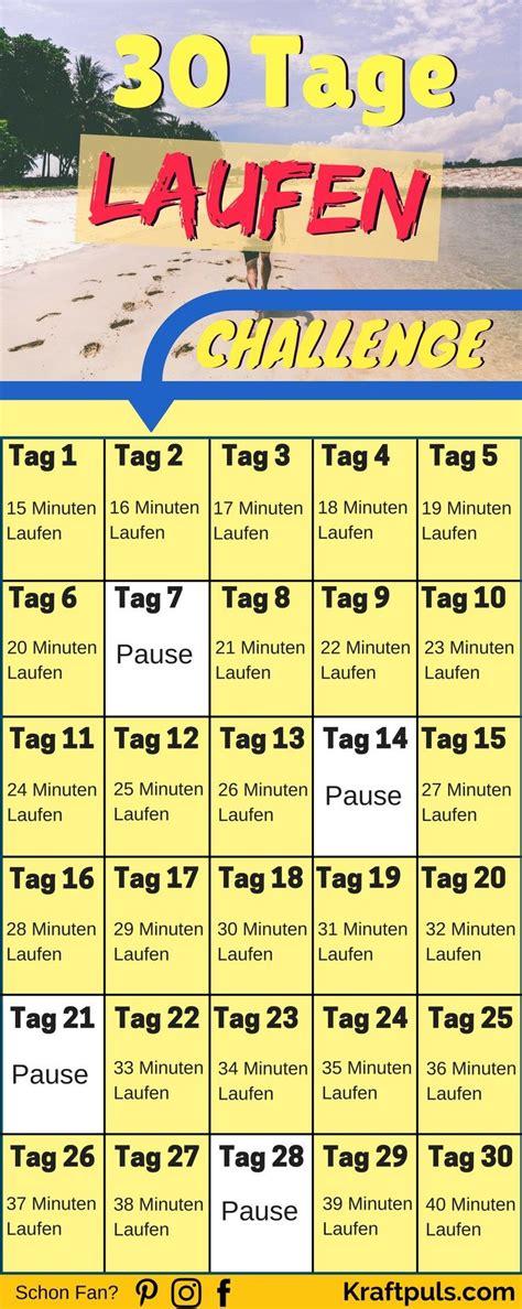 30 tage laufen challenge so verbrennst du 252 ber 10 000 kalorien fitness 220 bungen motivation