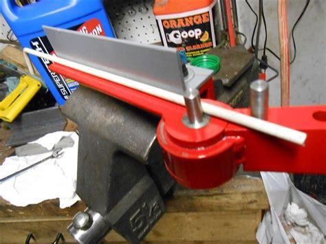 bench vise mounted metal bender  bobs   video