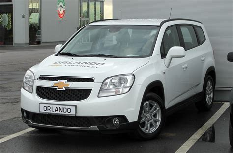 Chevrolet Orlando Modification by Chevrolet Orlando Lt Best Photos And Information Of
