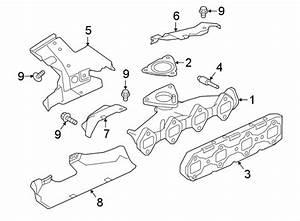 Jaguar Xe Exhaust Manifold  2 0 Liter Diesel  F