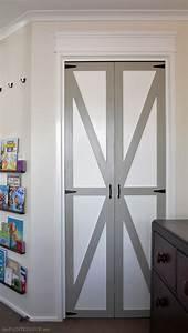 converting bi folds to barn doors before after the With bi folding barn doors