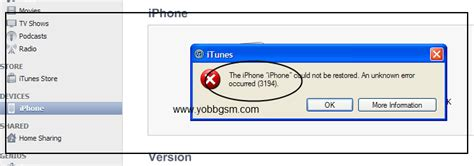 the iphone could not be restored 3194 how to fix error 3194 on iphone mac or itunes