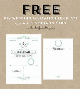 free printable wedding invitation template free wedding With wedding invitations printing vancouver