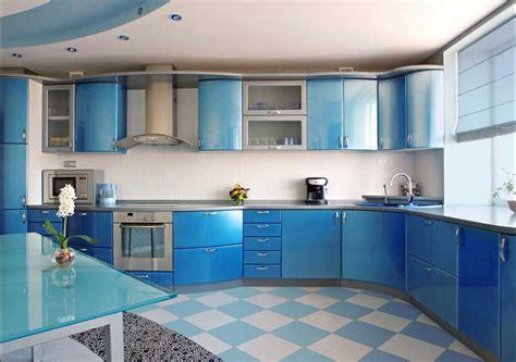 Keramik Fliesen Küchenboden Mit Weißblau Farbe