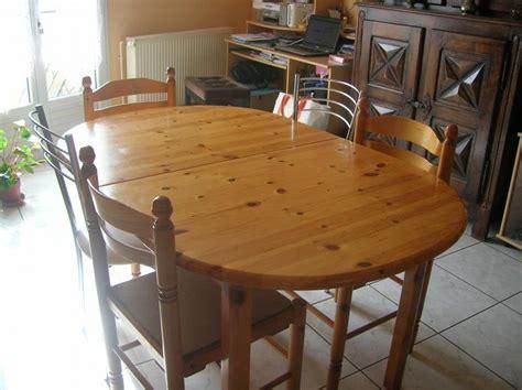 table de cuisine en pin troc echange meuble de cuisine en pin table 6 chaises